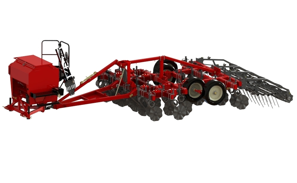 Valmar 55 Series in three-point hitch system