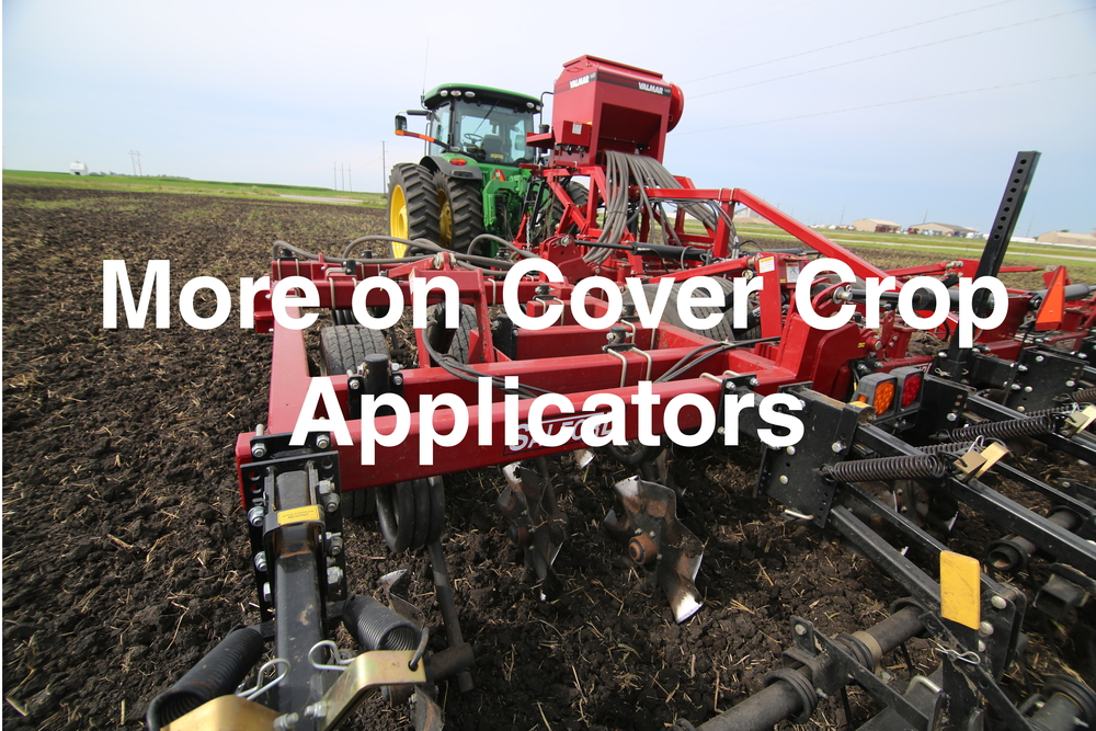 More on cover Crop Applicators