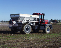 BBI MagnaSpread Truck Mount Fertilizer Spreader