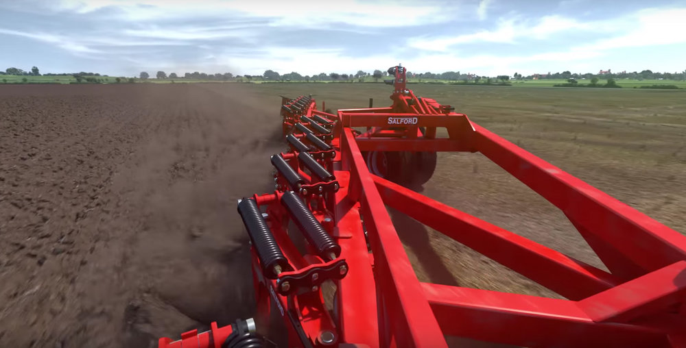Farming Simulator 17 - with Salford Tillage
