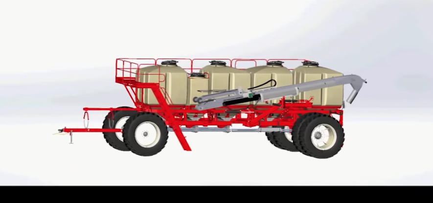 Salford ac4000 Liquid fertilizer cart