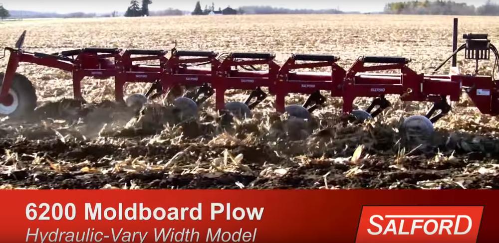 salford 6200 moldboard plow hydraulic vary width model