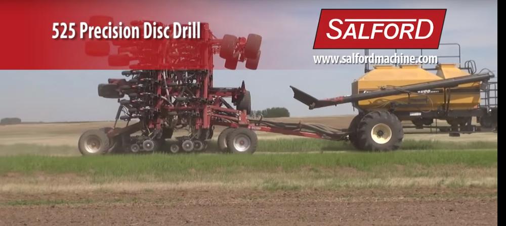 salford 525 precision disc drill