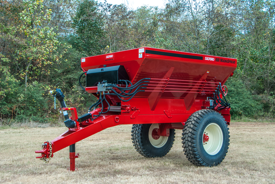 MagnaSpread 10 ft Single Axle High Clearance Spreader
