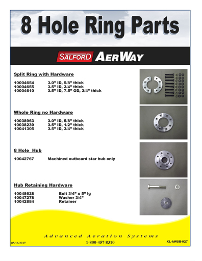 9 hole ring parts aerway