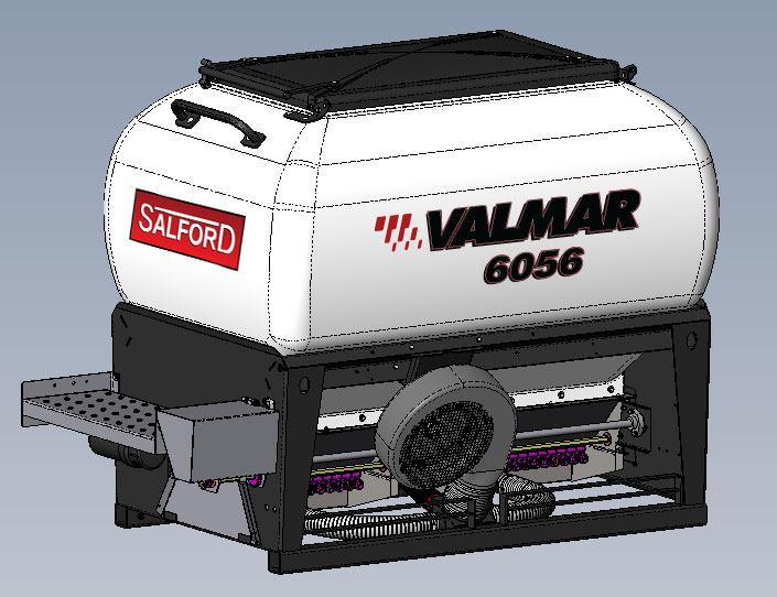 Valmar 56 series implement mount granular applicator