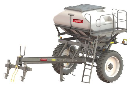Valmar st-6 strip till granular applicator