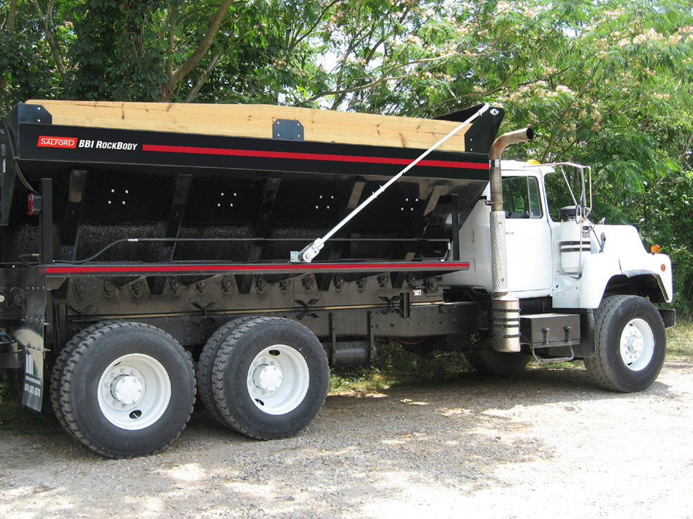 BBI RockBody municipal spreader