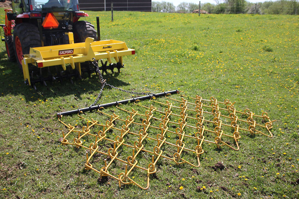 Aerway Flexible Chain Harrowing System