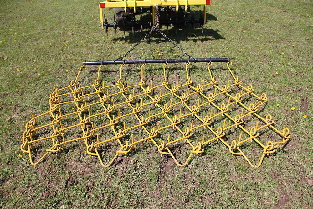 Aerway flexible chain harrowing systems