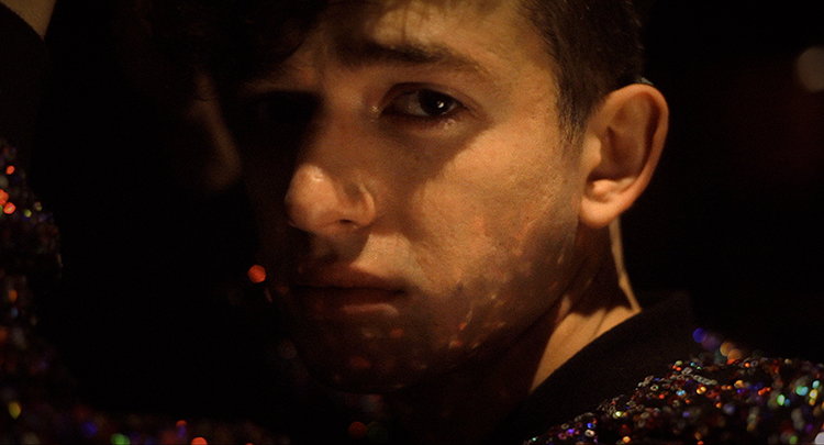 "Actor Caleb Feeney stars in Director Mark Thiedeman's new feature film ""White Nights"""