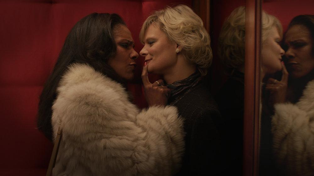 """Audra McDonald & Martha Plimpton in """"Hello Again"""""""