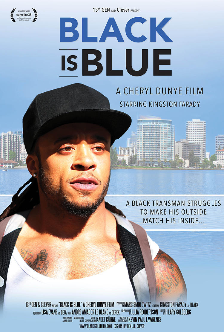 Black is Blue Poster