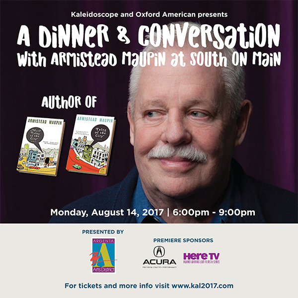Armistead Maupin Event