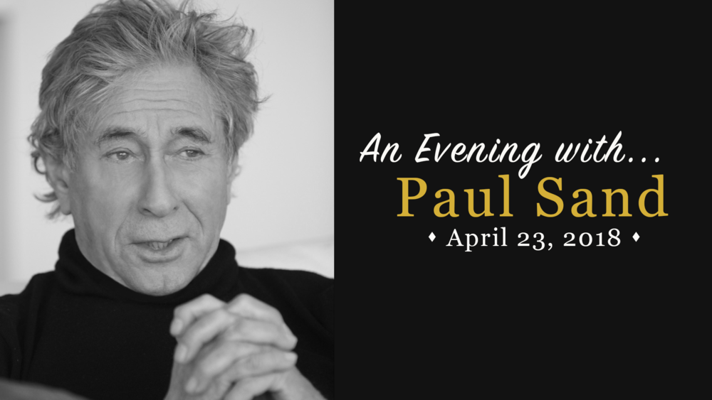 An Evening With Paul Sand banner.png