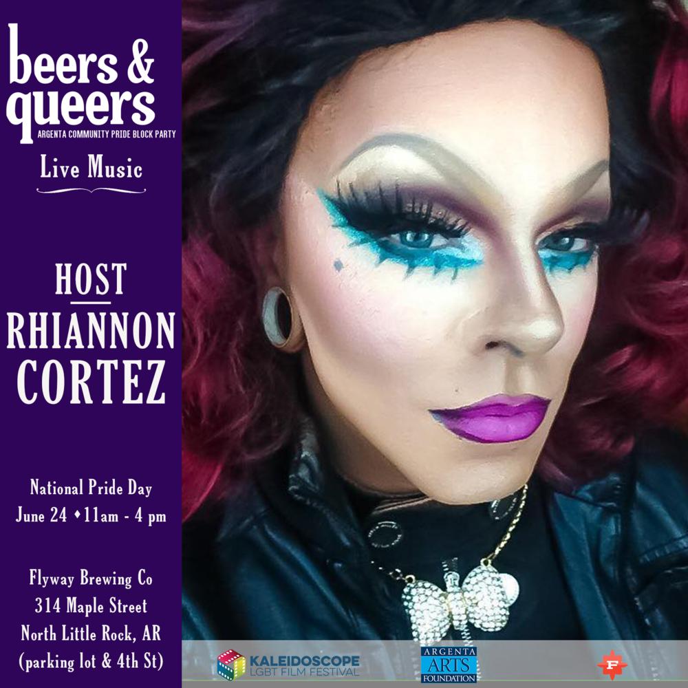 Rhiannon Cortez (Host)
