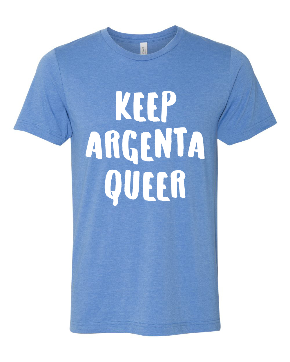 Keep Argenta Queer (Heather Columbia Blue)