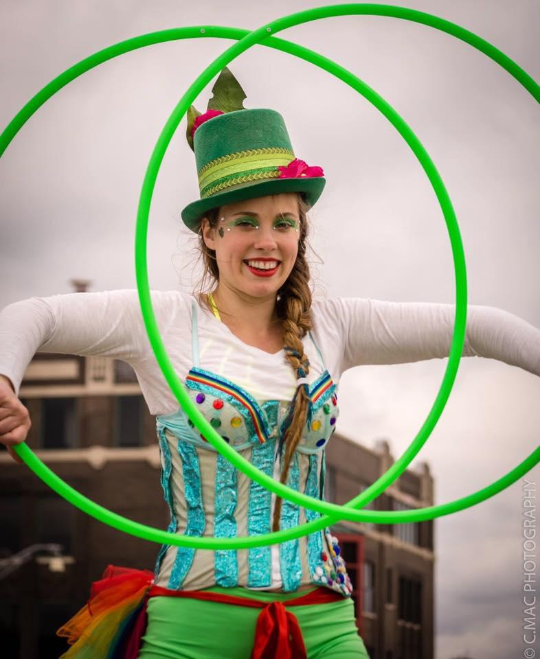 Hula Hoopers - Arkansas Circus Arts