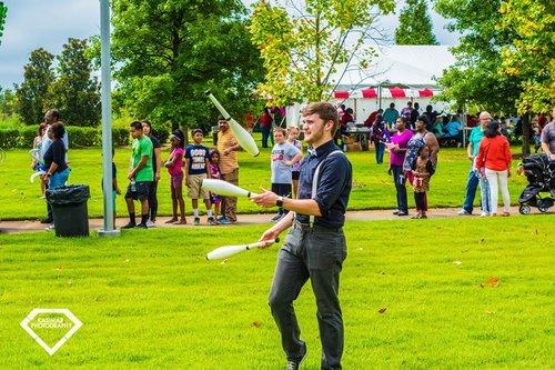 Jugglers - Arkansas Circus Arts