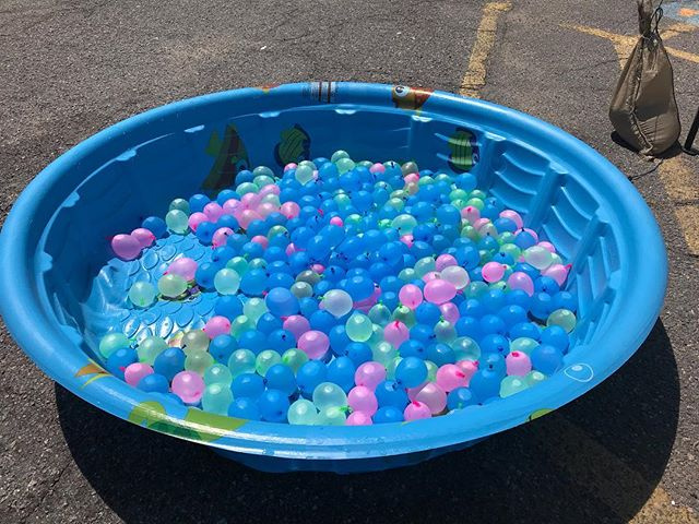 The water balloons are ready!  Come find them in the splash zone of the Queer Arts Streer Fair!