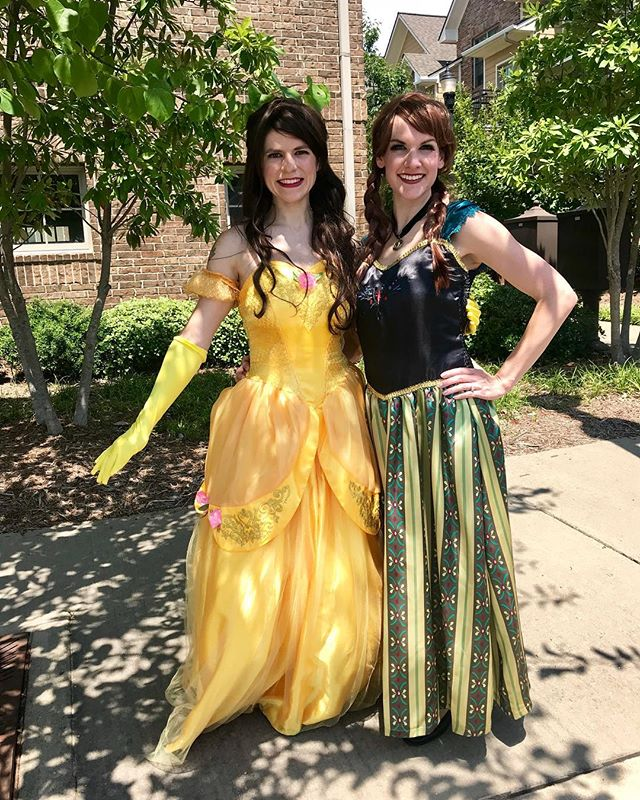 The Princesses are here! Come out to the Kaleidoscope Queer Arts Street Fair! @arkansascircusarts
