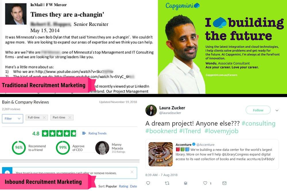 GoodSeeker Inbound vs Traditional Recruitment Marketing