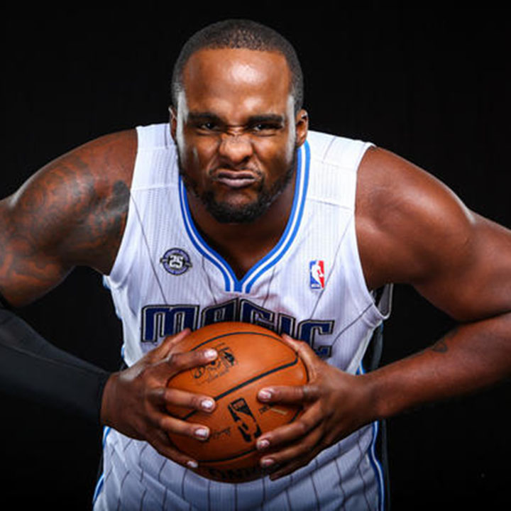 Glen Davis (Born January 1, 1986) He was a former LSU basketball player and was selected by the Seattle SuperSonics with the 35th overall pick in the 2007 NBA draft and then was traded to Boston. He now is a power forward for the Los Angeles Clippers in as of 2014. He attended U High in Baton Rouge, LA. Source: http://1019ampradio.cbslocal.com/photo-galleries/2012/02/09/photos-magic-beat-the-heat-102-89/miami-heat-v-orlando-magic-37/