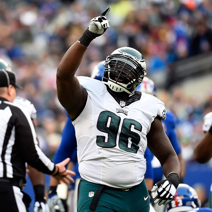 BENNIE LOGAN    NFL Defensive Tackle   Philadelphia Eagles