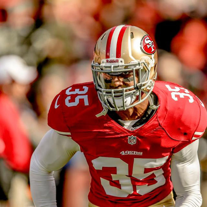 ERIC REID    NFL Safety   San Francisco 49ers
