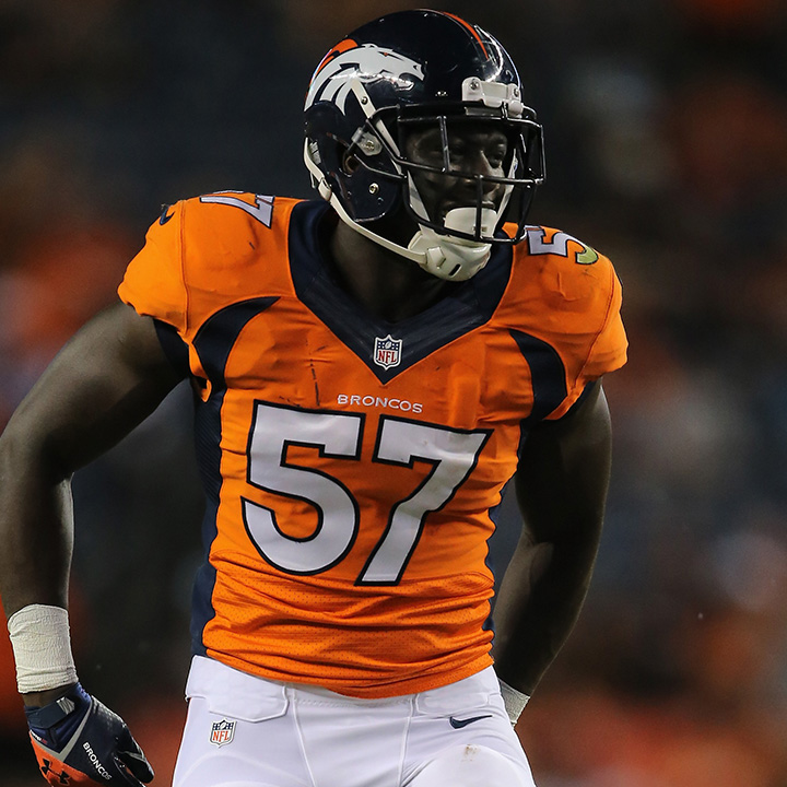 LAMIN BARROW    NFL Linebacker   Denver Broncos