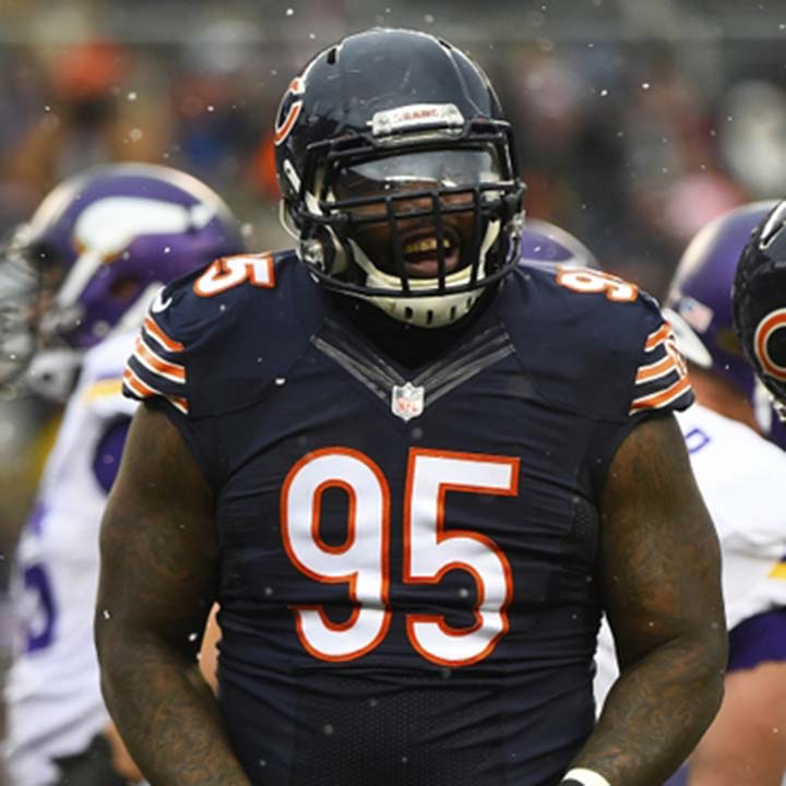 EGO FERGUSON  NFL Defensive Tackle Chicago Bears