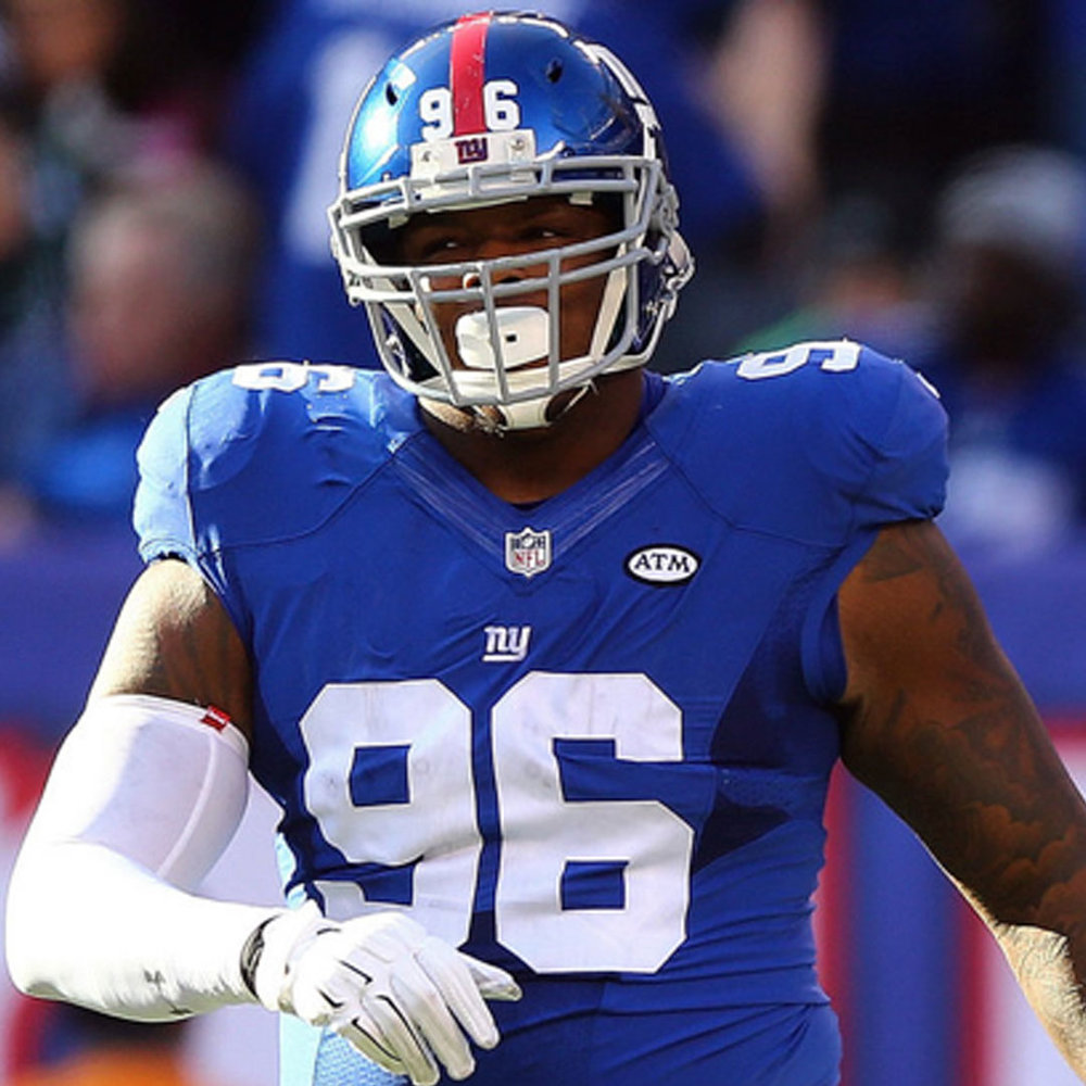 JAY BROMLEY    NFL Defensive Tackle    New York Giants