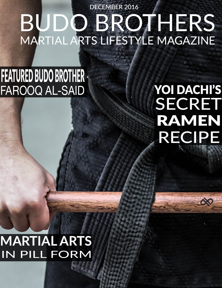 Budo Brothers Martial Arts Lifestle Magazine December 2016.jpg