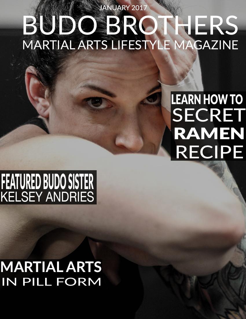 Budo Brothers Martial Arts Lifestle Magazine January 2017.jpg