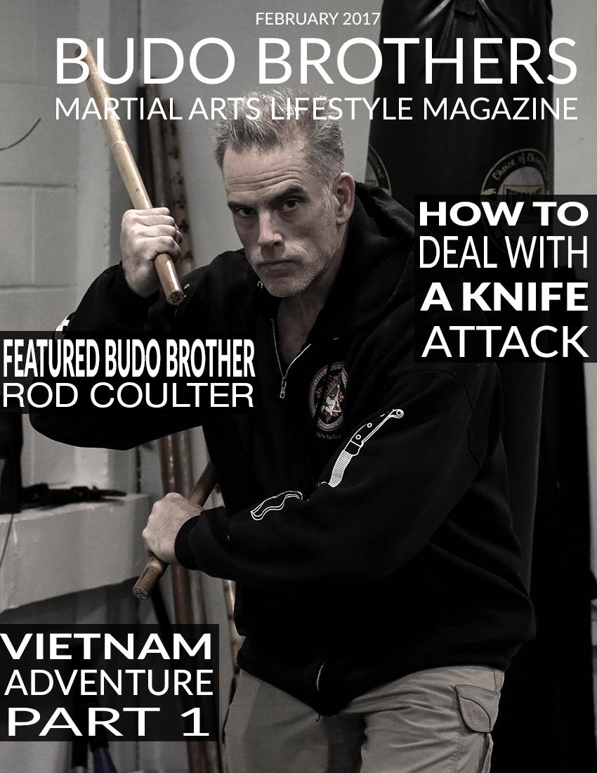 Budo Brothers Martial Arts Lifestle Magazine Febuary 2017.jpg