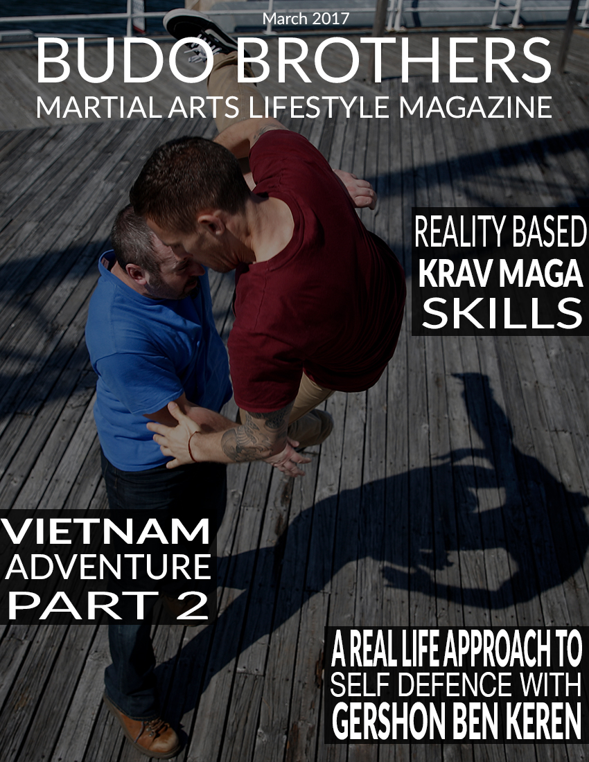 Budo Brothers Martial Arts Lifestle Magazine March 2017.jpg