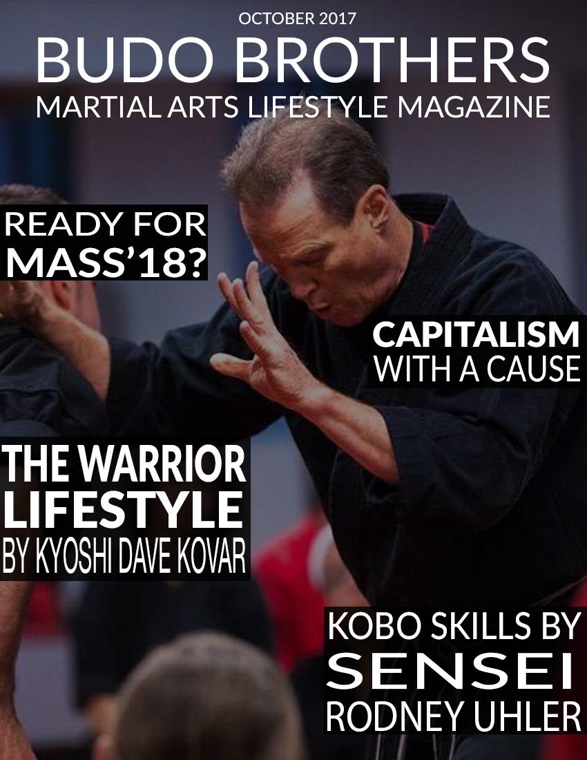 Budo Brothers Martial Arts Lifestle Magazine October 2017.jpg