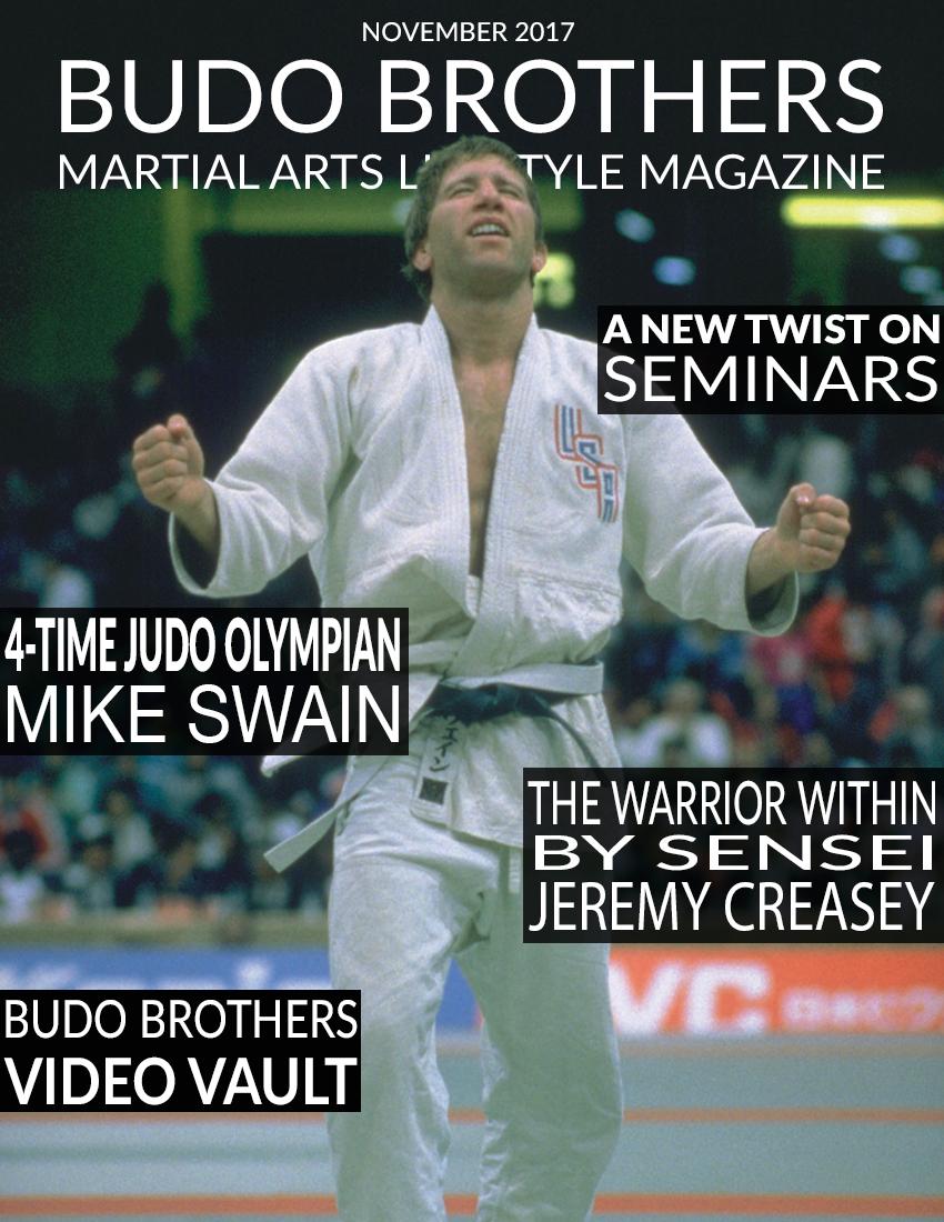 Budo Brothers Martial Arts Lifestle Magazine November 2017.jpg
