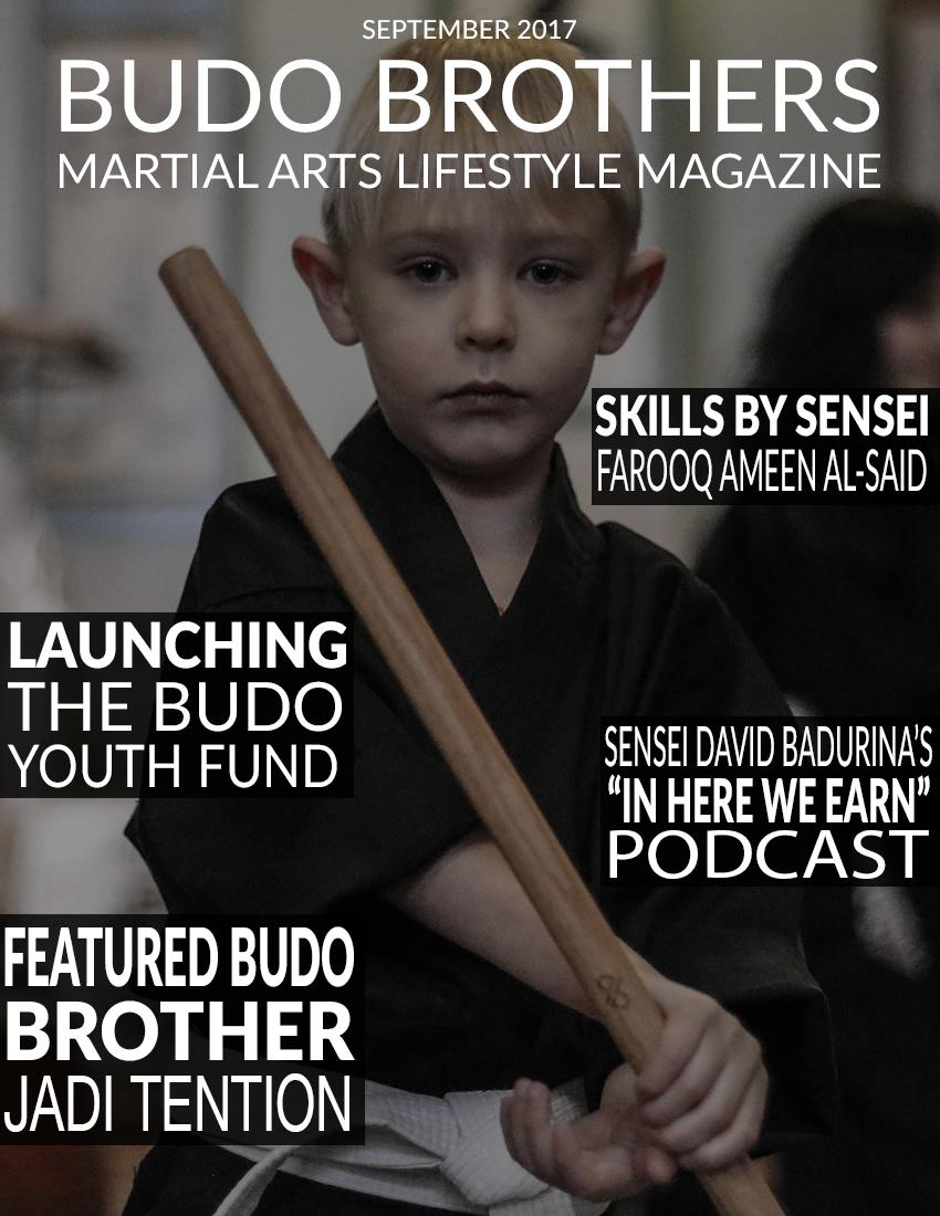 Budo Brothers Martial Arts Lifestle Magazine September 2017.jpg