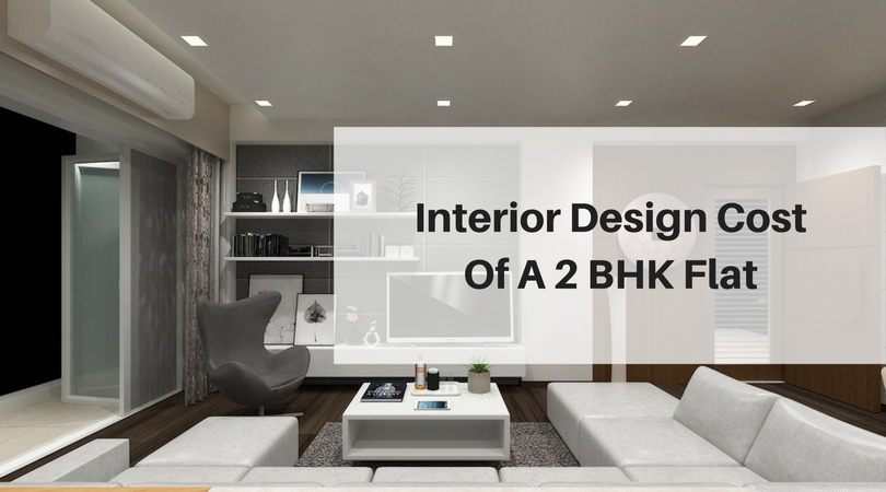 Interior design cost of a 2 bhk flat best architects for 1 bhk flat interior decoration image