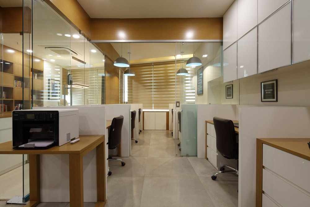 Fundsguru office interior design