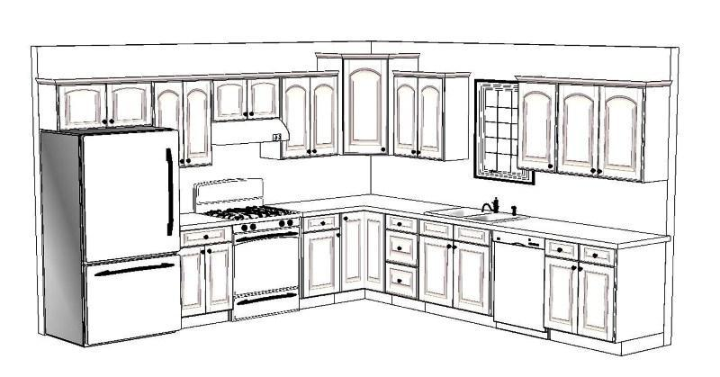 Kitchen design layout #kitchen #design