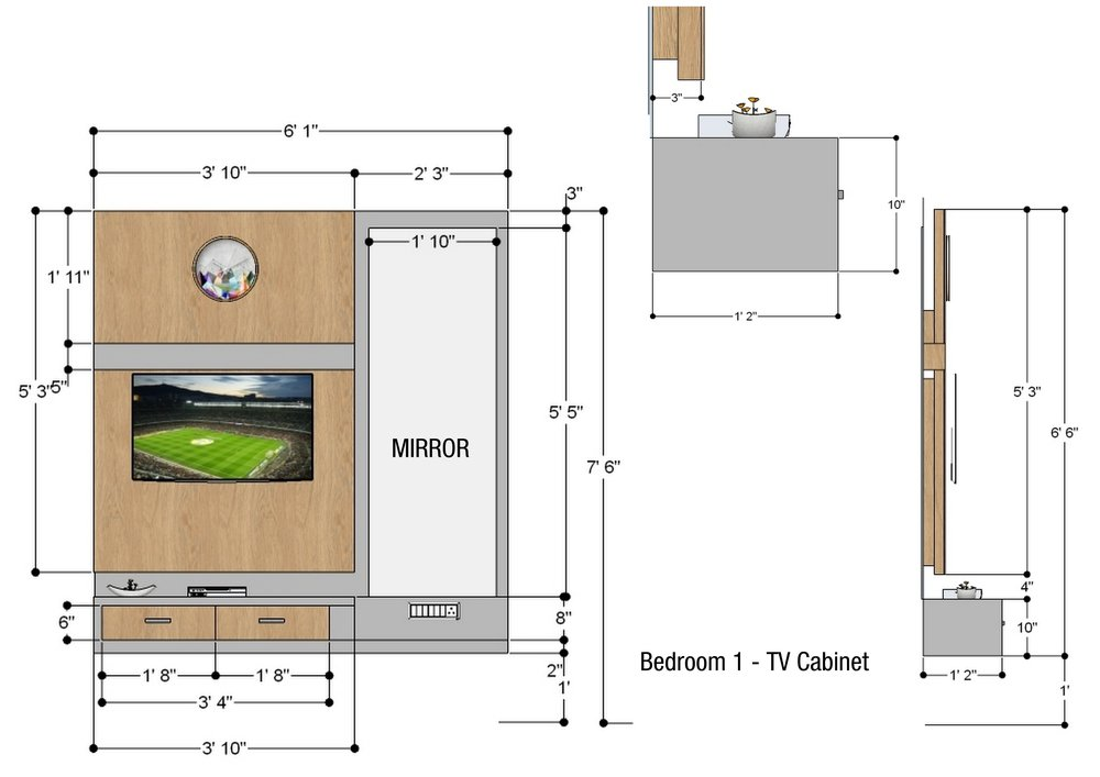 Bedroom 1 - TV.jpg