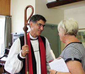NH Episcopal Bishop, A. Robert Hirschfeld