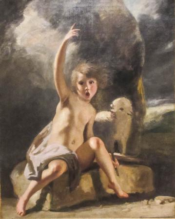 Young John the Baptist by Joshua Reynolds