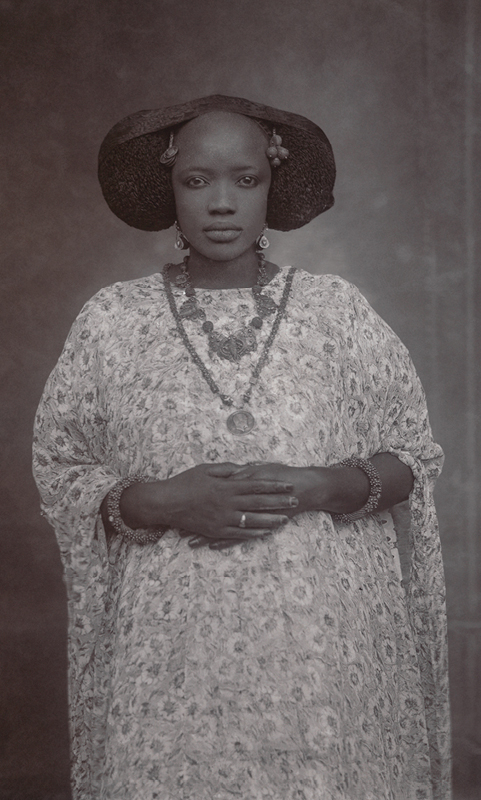 Unknown Artist (Senegal).   Portrait of a Woman  , ca. 1910. Gelatin silver print from glass negative, 1975; 6 x 4 in. (16.5 x 11.4 cm). The Metropolitan Museum of Art, New York, Gift of Susan Mullin Vogel, 2015