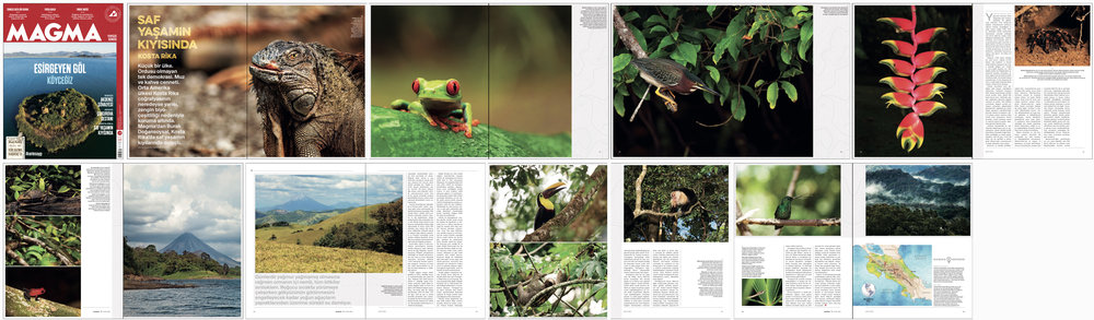 "MAGMA Magazine Issue #16   September 2016 | Pages 44-59   ""On the coast of Pura Vida: Costa Rica"" Words & Photos by Burak Dogansoysal"