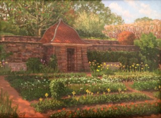 Dumbarton Oaks shed and Garden 14x18.JPG