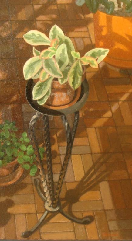 Plant on Tripod.JPG