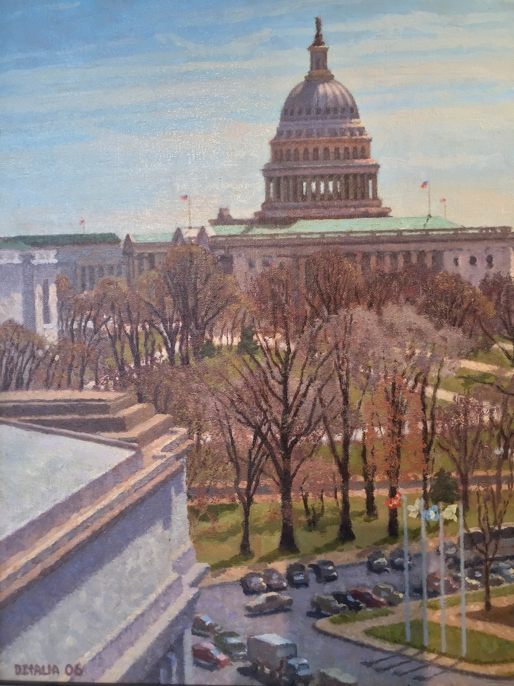 Capitol Dome from Union Station